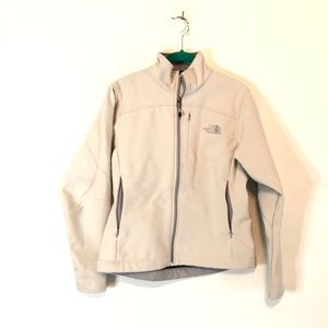 The North Face - Off white Apex Jacket